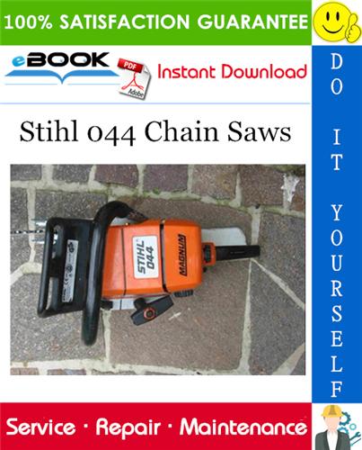 Thumbnail ☆☆ Best ☆☆ Stihl 044 Chain Saws Service Repair Manual