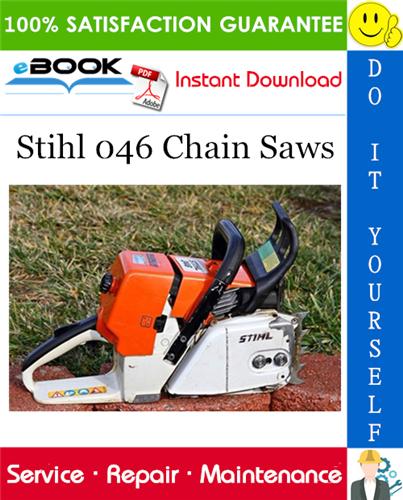 Thumbnail ☆☆ Best ☆☆ Stihl 046 Chain Saws Service Repair Manual