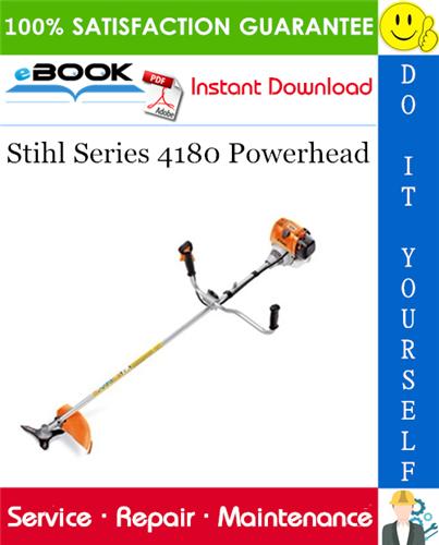 Thumbnail ☆☆ Best ☆☆ Stihl Series 4180 Powerhead Service Repair Manual
