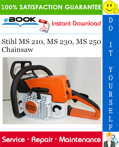 Thumbnail ☆☆ Best ☆☆ Stihl MS 210, MS 230, MS 250 Chainsaw Service Repair Manual