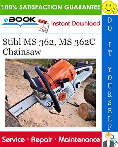 Thumbnail ☆☆ Best ☆☆ Stihl MS 362, MS 362C Chainsaw Service Repair Manual