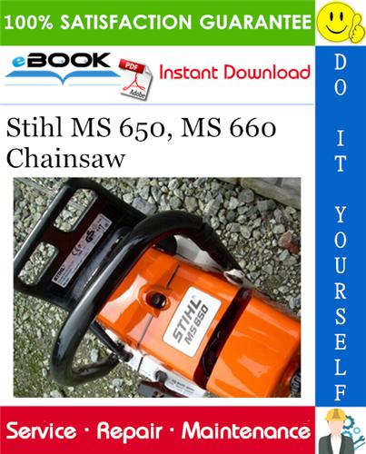 Thumbnail ☆☆ Best ☆☆ Stihl MS 650, MS 660 Chainsaw Service Repair Manual