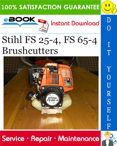 Thumbnail ☆☆ Best ☆☆ Stihl FS 25-4, FS 65-4 Brushcutters Service Repair Manual
