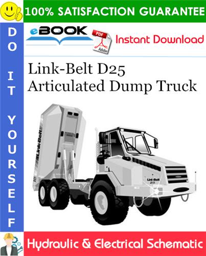 Thumbnail ☆☆ Best ☆☆ Link-Belt D25 Articulated Dump Truck Hydraulic & Electrical Schematic