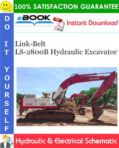 Thumbnail ☆☆ Best ☆☆ Link-Belt LS-2800B Hydraulic Excavator Hydraulic & Electrical Schematic