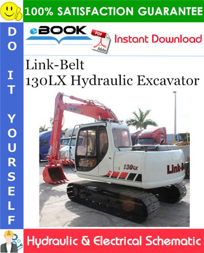 Thumbnail ☆☆ Best ☆☆ Link-Belt 130LX Hydraulic Excavator Hydraulic & Electrical Schematic