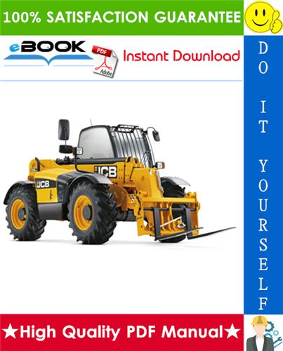 Thumbnail ☆☆ Best ☆☆ JCB 531-70, 533-105, 535-95, 536-60, 536-70, 526-56, 541-70 (JCB 444 Engine) Tier 3 Engine Telescopic Handler Service Repair Manual