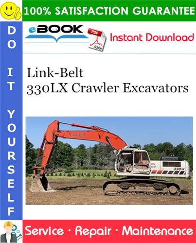 Thumbnail ☆☆ Best ☆☆ Link-Belt 330LX Crawler Excavators Service Repair Manual