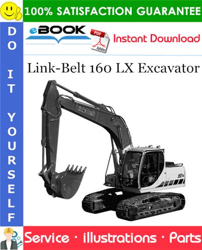Thumbnail ☆☆ Best ☆☆ Link-Belt 160 LX Excavator Parts Manual