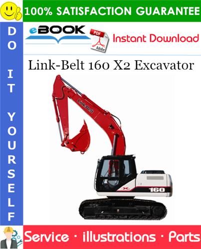 Thumbnail ☆☆ Best ☆☆ Link-Belt 160 X2 Excavator Parts Manual
