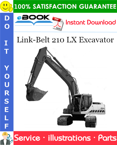 Thumbnail ☆☆ Best ☆☆ Link-Belt 210 LX Excavator Parts Manual