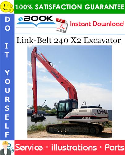 Thumbnail ☆☆ Best ☆☆ Link-Belt 240 X2 Excavator Parts Manual
