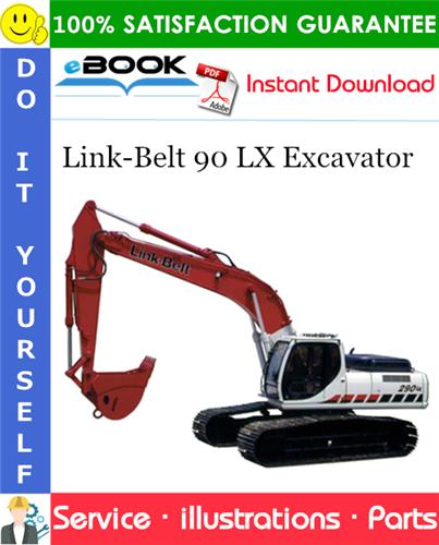 Thumbnail ☆☆ Best ☆☆ Link-Belt 90 LX Excavator Parts Manual