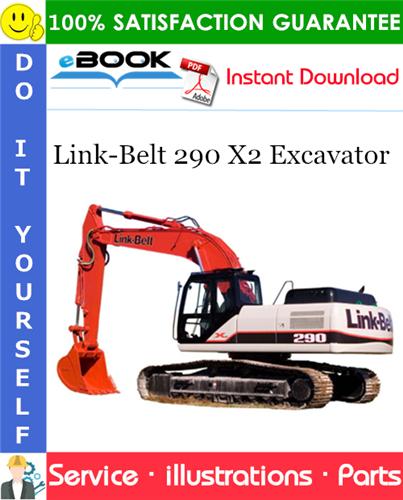 Thumbnail ☆☆ Best ☆☆ Link-Belt 290 X2 Excavator Parts Manual