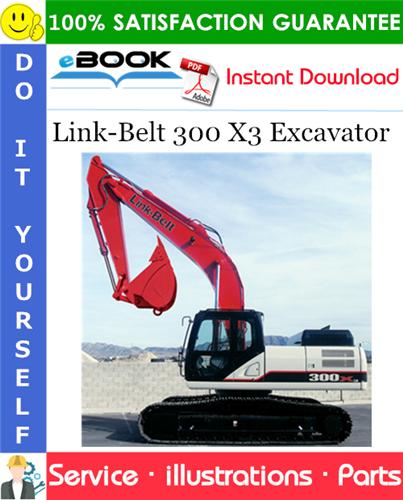 Thumbnail ☆☆ Best ☆☆ Link-Belt 300 X3 Excavator Parts Manual