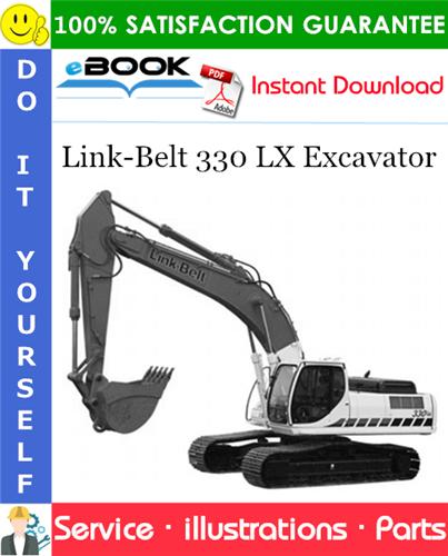 Thumbnail ☆☆ Best ☆☆ Link-Belt 330 LX Excavator Parts Manual