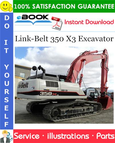 Thumbnail ☆☆ Best ☆☆ Link-Belt 350 X3 Excavator Parts Manual