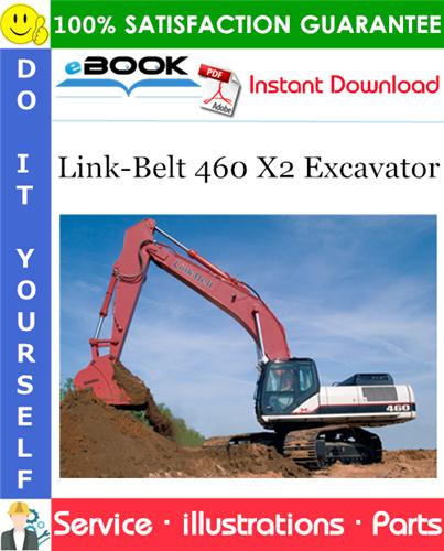 Thumbnail ☆☆ Best ☆☆ Link-Belt 460 X2 Excavator Parts Manual