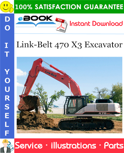 Thumbnail ☆☆ Best ☆☆ Link-Belt 470 X3 Excavator Parts Manual