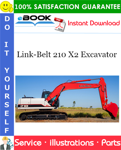 Thumbnail ☆☆ Best ☆☆ Link-Belt 210 X2 Excavator Parts Manual