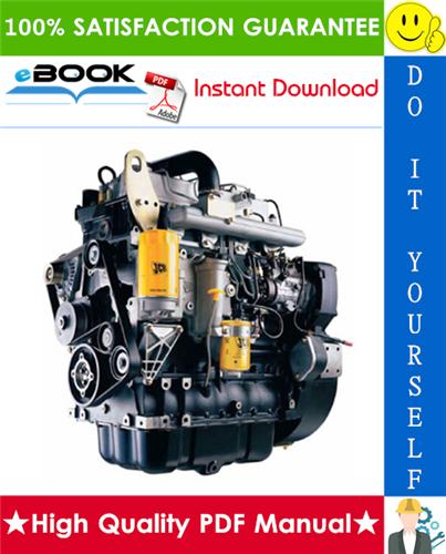 Thumbnail ☆☆ Best ☆☆ JCB 444 Mechanical Engine Service Repair Manual