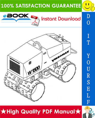 Thumbnail ☆☆ Best ☆☆ JCB Vibromax W1500 Trench Roller Service Repair Manual (Starting at S/N JKC4200800)