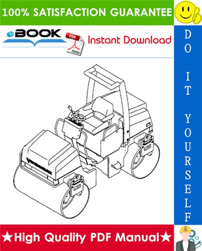 Thumbnail ☆☆ Best ☆☆ JCB Vibromax 355 / 365 / 455 / 465 Tandem Roller, 355k / 365k / 455k / 465k Combination Roller Service Repair Manual