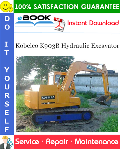 Thumbnail ☆☆ Best ☆☆ Kobelco K903B Hydraulic Excavator Service Repair Manual
