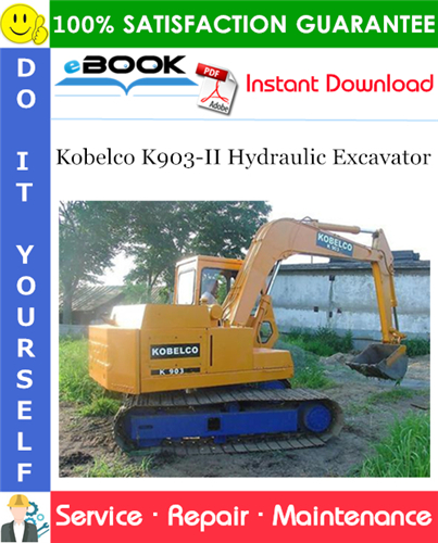 Thumbnail ☆☆ Best ☆☆ Kobelco K903-II Hydraulic Excavator Service Repair Manual