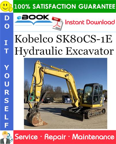 Thumbnail ☆☆ Best ☆☆ Kobelco SK80CS-1E Hydraulic Excavator Service Repair Manual #2