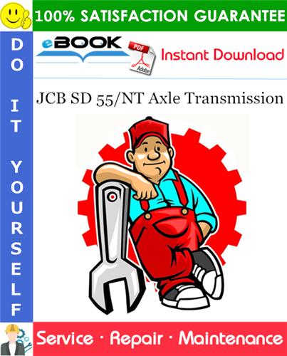 Thumbnail ☆☆ Best ☆☆ JCB SD 55/NT Axle Transmission Service Repair Manual
