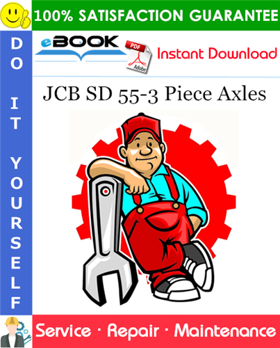 Thumbnail ☆☆ Best ☆☆ JCB SD 55-3 Piece Axles Service Repair Manual