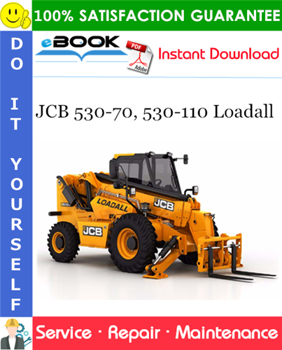 Thumbnail ☆☆ Best ☆☆ JCB 530-70, 530-110 Loadall Service Repair Manual