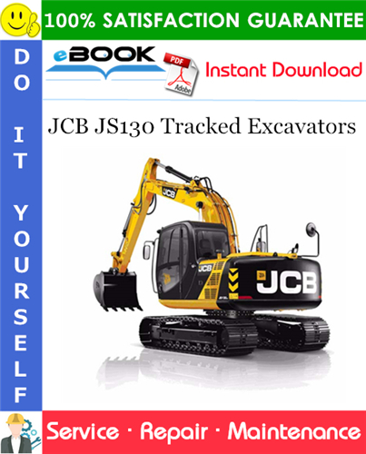 Thumbnail ☆☆ Best ☆☆ JCB JS130 Tracked Excavators Service Repair Manual