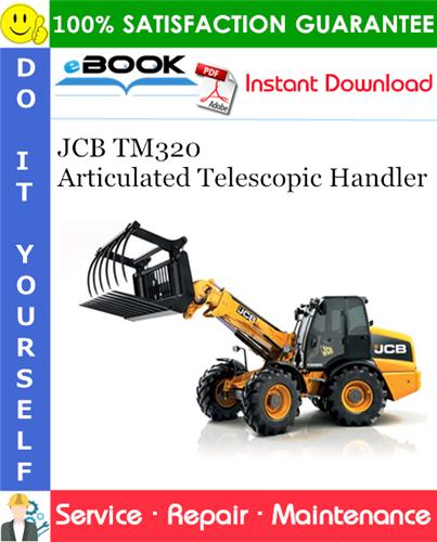 Thumbnail ☆☆ Best ☆☆ JCB TM320 Articulated Telescopic Handler Service Repair Manual
