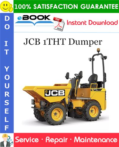 Thumbnail ☆☆ Best ☆☆ JCB 1THT Dumper Service Repair Manual