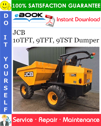 Thumbnail ☆☆ Best ☆☆ JCB 10TFT, 9TFT, 9TST Dumper Service Repair Manual