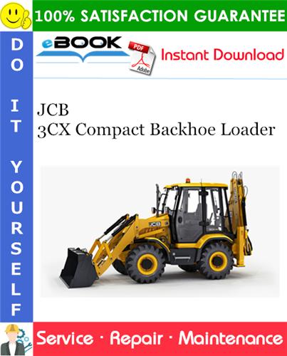 Thumbnail ☆☆ Best ☆☆ JCB 3CX Compact Backhoe Loader Service Repair Manual