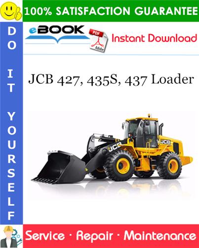 Thumbnail ☆☆ Best ☆☆ JCB 427, 435S, 437 Loader Service Repair Manual