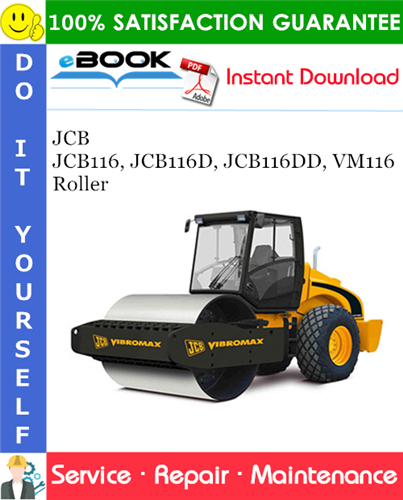 Thumbnail ☆☆ Best ☆☆ JCB JCB116, JCB116D, JCB116DD, VM116 Roller Service Repair Manual