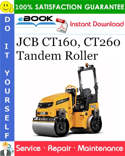 Thumbnail ☆☆ Best ☆☆ JCB CT160, CT260 Tandem Roller Service Repair Manual