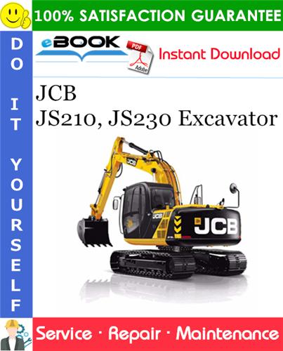 Thumbnail ☆☆ Best ☆☆ JCB JS210, JS230 Excavator Service Repair Manual