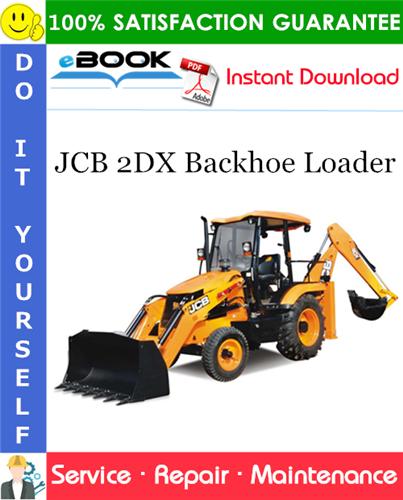 Thumbnail ☆☆ Best ☆☆ JCB 2DX Backhoe Loader Service Repair Manual