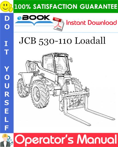 Thumbnail ☆☆ Best ☆☆ JCB 530-110 Loadall Operators Manual