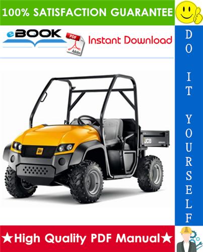 Thumbnail ☆☆ Best ☆☆ JCB Workmax 800D Utility Vehicle Service Repair Manual