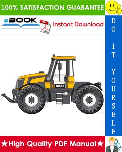 Thumbnail ☆ High-Quality ☆ JCB 3200, 3230 Tier 4 Fastrac Service Repair Manual