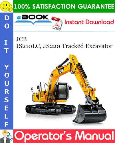 Thumbnail ☆☆ Best ☆☆ JCB JS210LC, JS220 Tracked Excavator Operators Manual