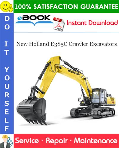Thumbnail ☆☆ Best ☆☆ New Holland E385C Crawler Excavators Service Repair Manual