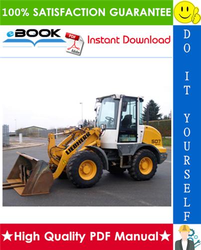 Thumbnail ☆☆ Best ☆☆ Liebherr L507 - 1259 Wheel loader Service Repair Manual