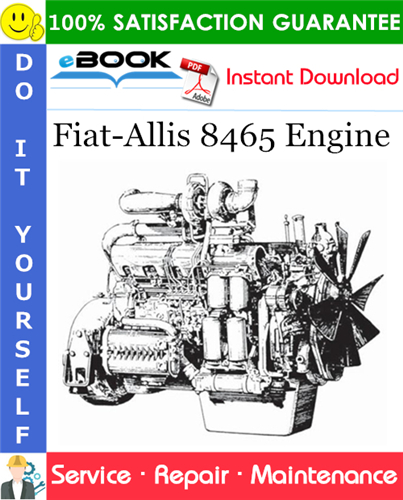 Thumbnail ☆☆ Best ☆☆ Fiat-Allis 8465 Engine Service Repair Manual